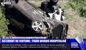 Tiger Woods blessé dans un grave accident de la route en Californie