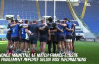 VI Nations : France-Ecosse finalement reporté
