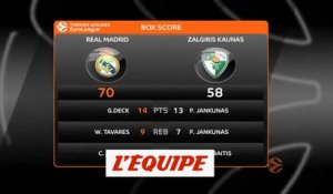 Le résumé de Real Madrid - Zalgiris Kaunas - Basket - Euroligue