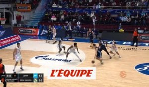 Le résumé de Zenit Saint-Pétersbourg - Real Madrid - Basket - Euroligue (H)
