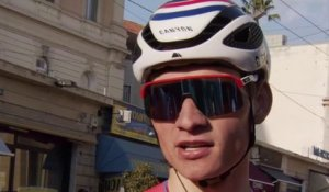 "Milan-San Remo 2021 - Mathieu van der Poel : ""Jasper Stuyven chose the right moment to attack"""