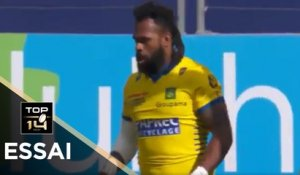TOP 14 - Essai d'Alivereti RAKA (ASM) - Paris - Clermont - J20 - Saison 2020/2021