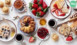 Gâteau salade de fruits