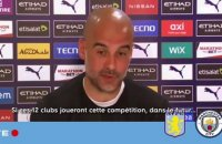 "Manchester City : ""Ce n'est pas du sport"", la litanie de Guardiola contre la Super League"