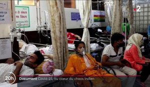 Covid-19 : immersion au cœur d'un hôpital saturé à New Delhi, en Inde