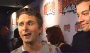 NME Awards 2009 - Sexiest Male for Muse's Matt Bellamy