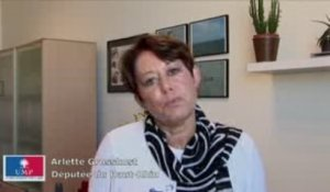Grand emprunt : itw d'Arlette Grosskost