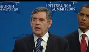 Déclaration de M. Gordon BROWN, à Pittsburgh