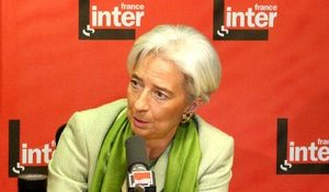 Christine Lagarde - France Inter