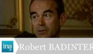 Qui est Robert Badinter ? - Archive INA