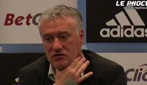 "Deschamps : ""Les plus performants en 2011"""