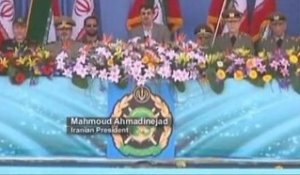 Ahmadinejad accuse Washington de vouloir brouiller...