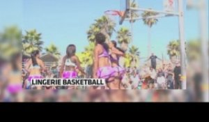 Lingerie basket-ball, a new sport very undressed