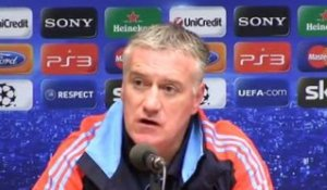 "Deschamps : ""Compte tenu de nos finances..."""