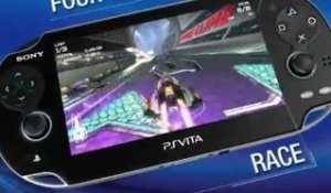 WipEout 2048 : PS Vita Launch Trailer