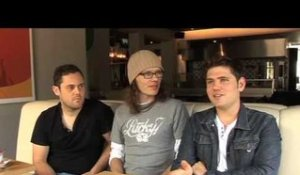 Scouting For Girls 2010 interview - Roy, Greg and Peter (part 1)