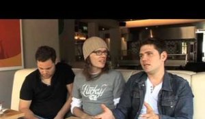 Scouting For Girls 2010 interview - Roy, Greg and Peter (part 5)