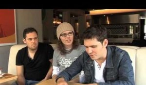 Scouting For Girls 2010 interview - Roy, Greg and Peter (part 4)