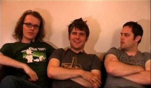 Scouting For Girls 2008 interview - Greg, Roy and Peter (part 4)
