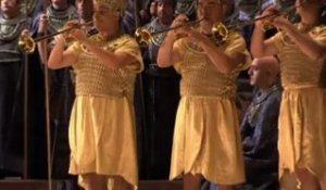 Aida - Triumphal March - Liceu (sets from 1945)