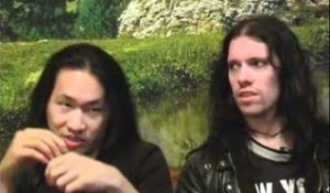 Dragonforce interview - Herman Li and Sam Totman (part 3)