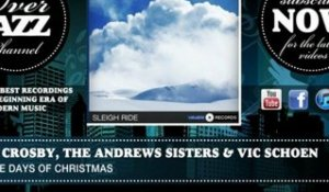 Bing Crosby, the Andrews Sisters & Vic Schoen - Twelve Days of Christmas (1949)