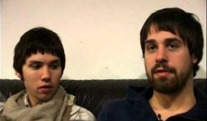 Panic! At the Disco 2008 interview - Ryan Ross and Jon Walker (part 3)