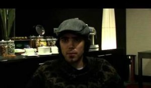 Patrick Watson 2009 interview (part 1)