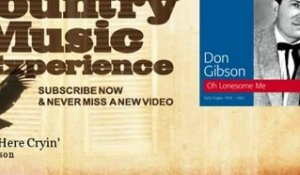 Don Gibson - Sittin' Here Cryin' - Country Music Experience