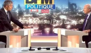 BFM Politique : l'interview de Laurent Wauquiez par Olivier Mazerolle