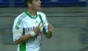 But Romain HAMOUMA (67ème) - FC Sochaux-Montbéliard - AS Saint-Etienne (0-3) - saison 2012/2013