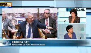Rachida Dati : l'invité de Ruth Elkrief