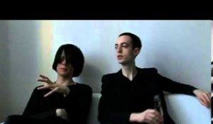 The Horrors 2009 interview - Joshua and Tom (part 4)