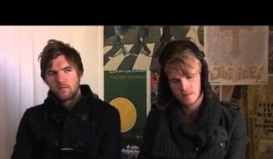 Kodaline interview - Stephen Garrigan and Mark Prendergast (part 1)