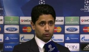 "Champions League - Nasser Al-Khelaïfi : ""We are back again"""