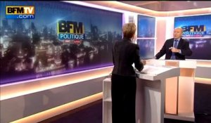 BFM Politique: l'interview de Laurence Parisot par Olivier Mazerolle