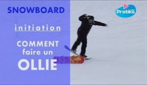 Initiation snowboard: Comment faire un ollie.