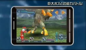 Phantasy Star Online 2 - Bande-annonce #5 - Version Mobile (TGS 2012)