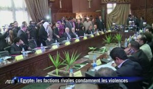 Egypte: les factions rivales condamnent les violences