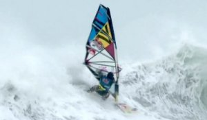 Windsurfing in Ireland - Mission 1 - Red Bull Storm Chase 2013