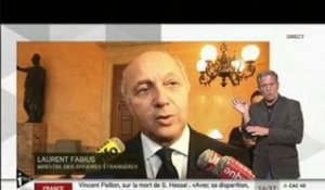 Mali - Interview de Laurent Fabius (Assemblée Nationale - 27/02/2013)