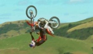 The Ultimate Freestyle Combo FMX, BMX, MTB - Farm Jam 2013 - New Zealand