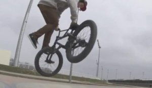 BMX Street riding in France - Anthony Perrin - 2013