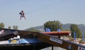 Wakeboarding on a Cargo Ship - Red Bull Wake of Steel 2012