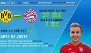 Officiel : Gotze quitte Dortmund et file au Bayern Munich !