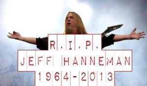 R.I.P. Jeff Hanneman of Slayer
