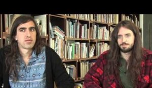 Crystal Fighters interview - Gilbert and Sebastian (part 5)