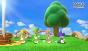 E3 2013 - Super Mario 3D World : Trailer d'annonce
