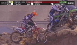 Forsberg wins Womens Enduro X gold