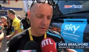 "Cyclisme : Brailsford : "" Je comprends que l'on compare Froome à Armstrong"" 08/07"